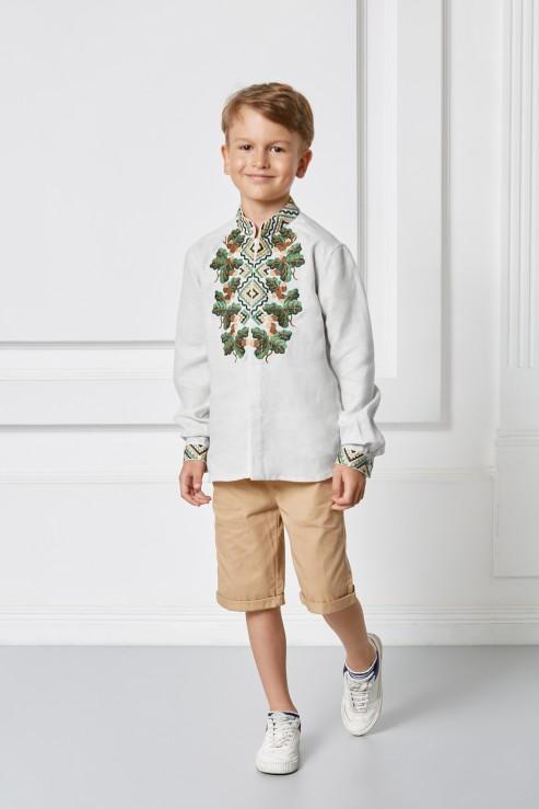 """Bogdan""  kids white embroidery photo"