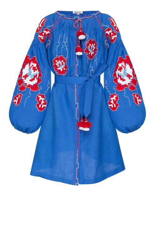 """""""Camelia""""  kids blue dress photo"""