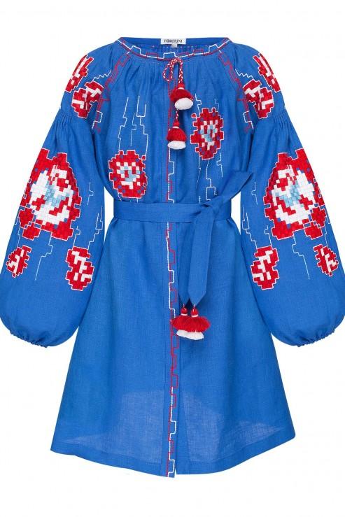 """""""Камелія"""" дитяча синя сукня"""