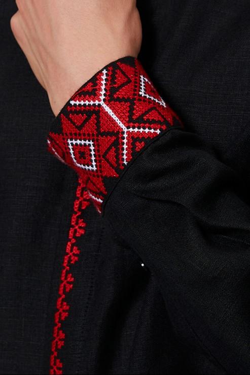 """Manhood"" black embroidery photo"