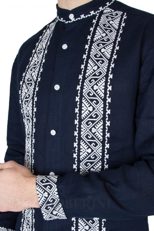 """Dnipro"" blue shirt photo"