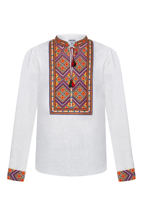 """Carpathians"" white shirt photo"