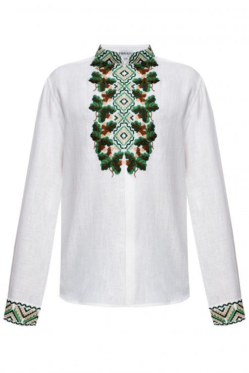 """Bogdan""  white embroidery"