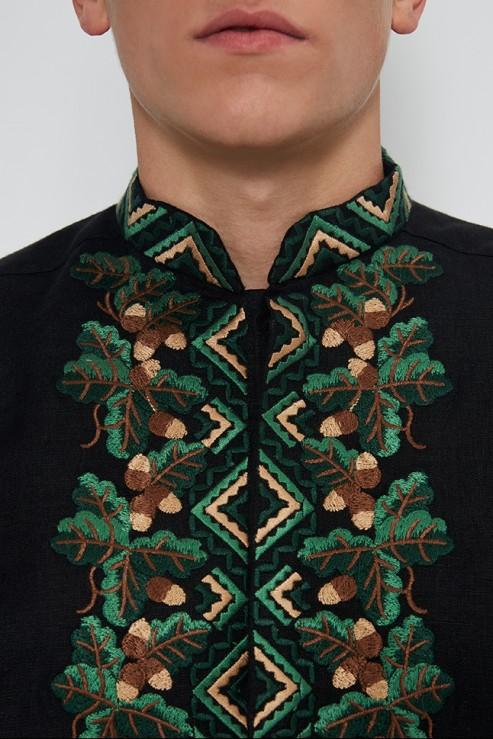 """Bogdan"" black embroidery photo"