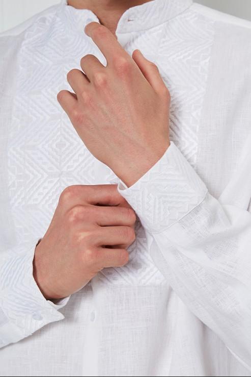 """""""Nazariy""""  white embroidery photo"""