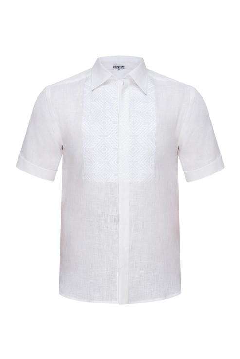 """Nazariy""  white short sleeve shirt photo"