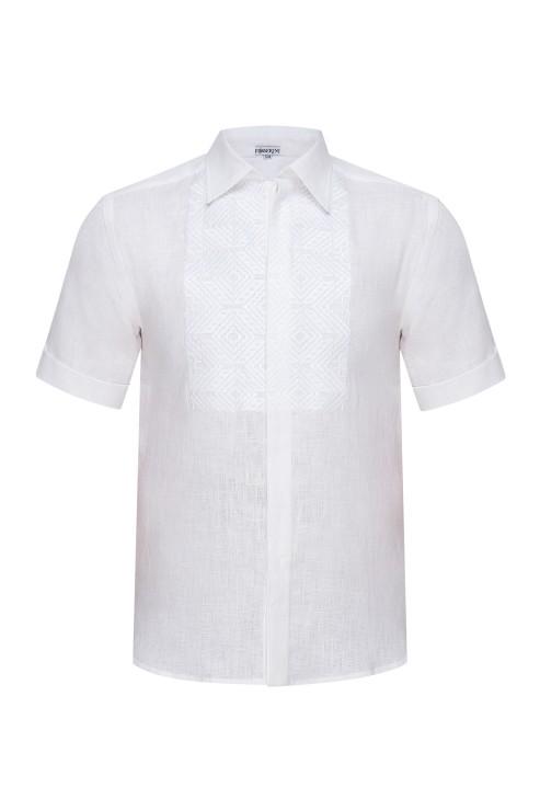 """Nazariy""  white short sleeve shirt photo"