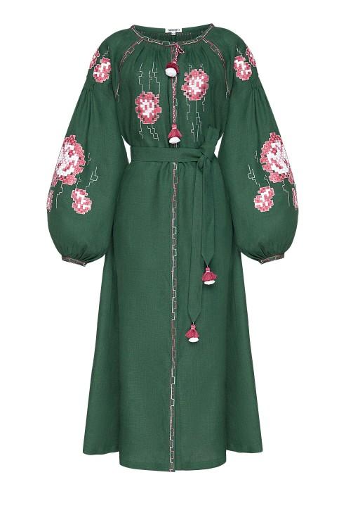 """Camelia"" green dress photo"