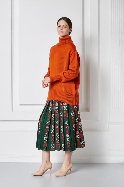 """Petra"" green skirt photo"