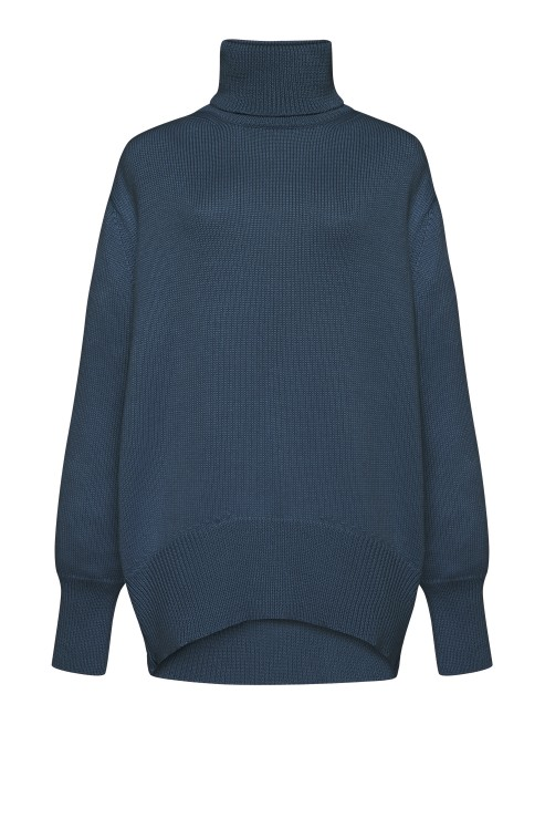 """Petra"" navy sweater photo"