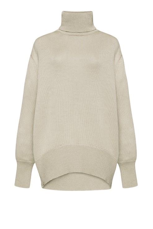 """Petra"" beige sweater photo"