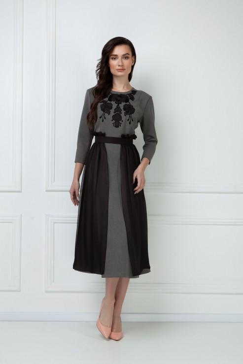 """Tamara"" grey dress  photo"