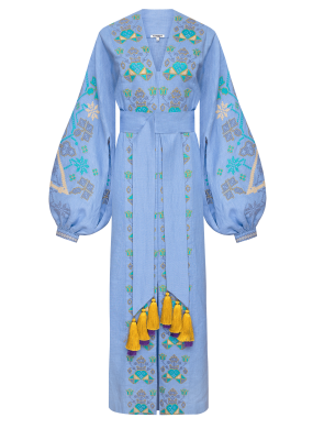 """""""Оазис"""" сукня-максi блакитна"""
