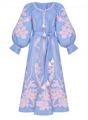 """""""Єва"""" сукня-мiдi блакитна"""