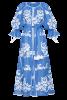 """""""Ocean"""" blue maxi dress"""
