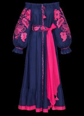"""""""Delphinium"""" blue dress"""