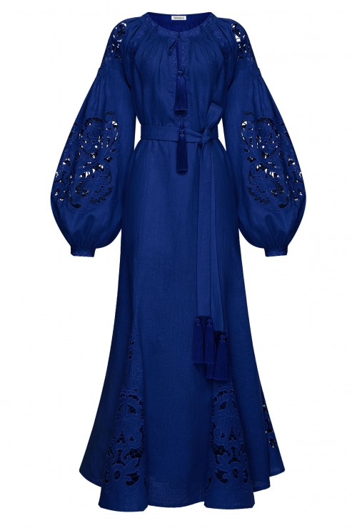 """""""Total Blue"""" сукня-міді синя"""