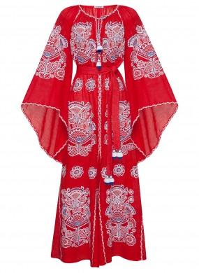 """""""Вікторі Шик"""" червона сукня"""