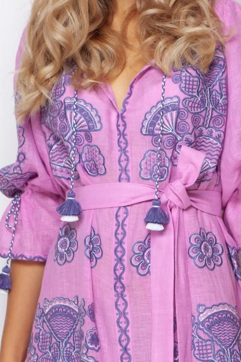 """Victory Сhic"" pink maxi dress photo"