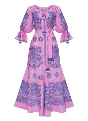 """Вiкторi шик"" рожева сукня"