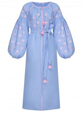 """""""Перлина"""" блакитна ювелірна сукня"""