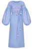 """""""Pearl"""" blue jewelry dress"""