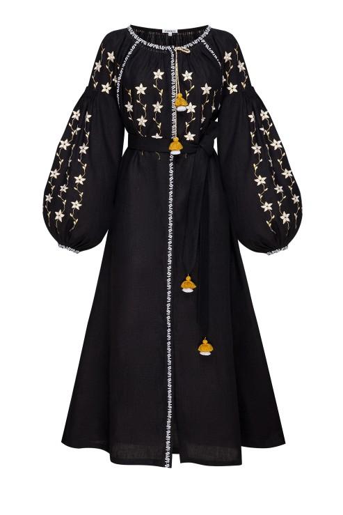 """""""Pearls"""" jewelry dress black photo"""