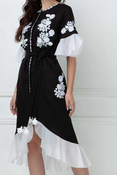 """""""Daisy"""" dress black  photo"""