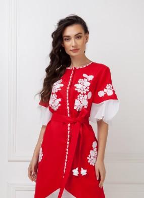 """Daisy"" red dress"
