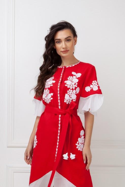"""""""Daisy"""" red dress photo"""