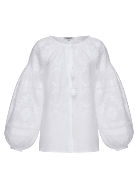"""""""Tina"""" white blouse"""