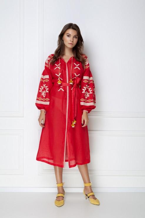 """""""Tina"""" red dress photo"""