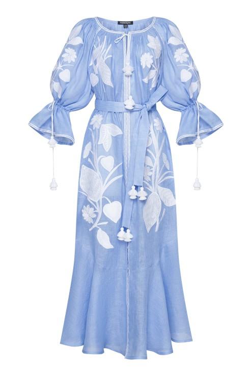 """""""Eden"""" violet maxi dress photo"""