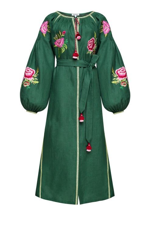 """""""Flora"""" green dress photo"""