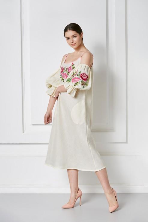 """""""Flora"""" off shoulder dress photo"""