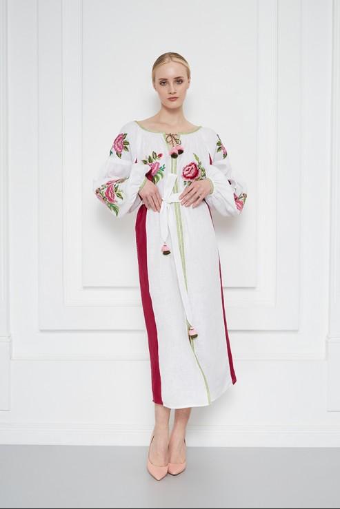 """Flora"" white dress photo"