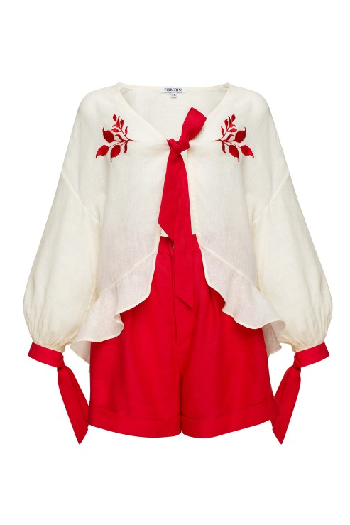 """Azalea"" red costume photo"