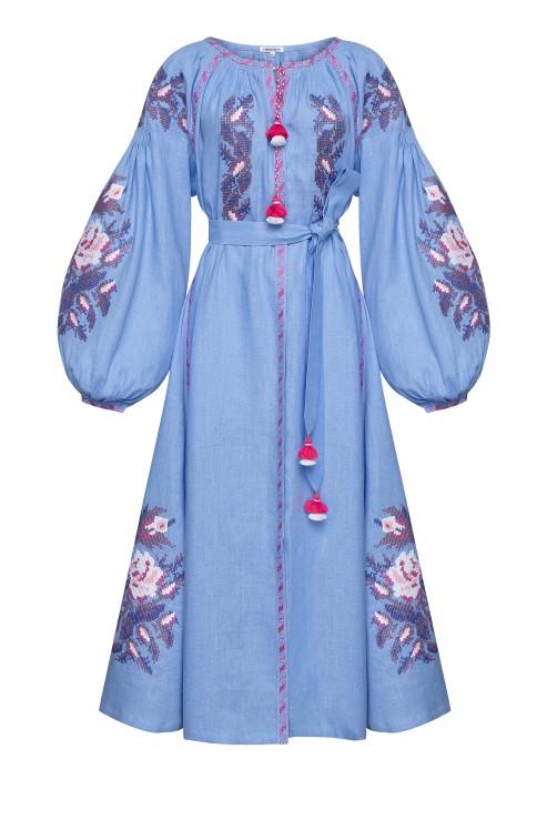 """""""Claire chic"""" blue dress photo"""