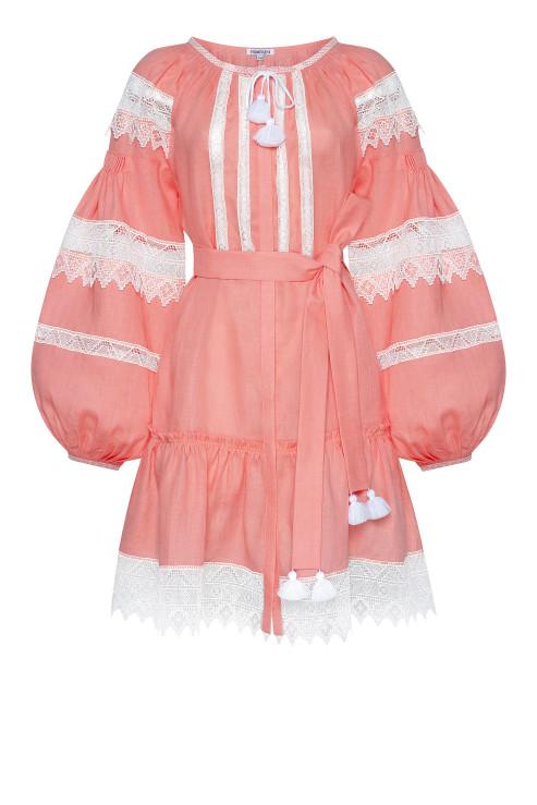 """""""Rebecca"""" powder mini-dress photo"""